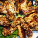 Пилешки крила на скара