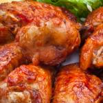 Пилешки крила пържени